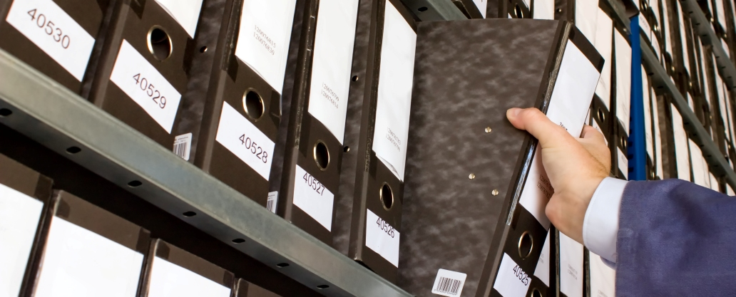 Shelf with Folders